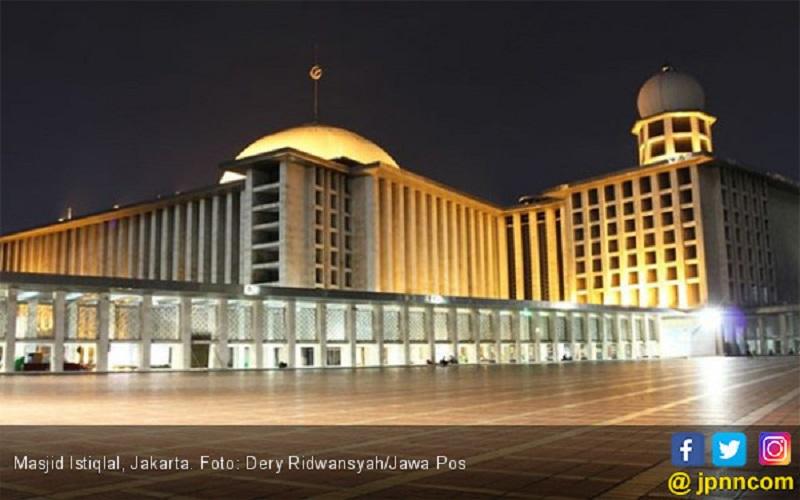 Masjid Istiqlal mulai meningkatkan brandingnya sebagai wisata religi global ( foto: Dery Ridwansyah/JPPN.com)