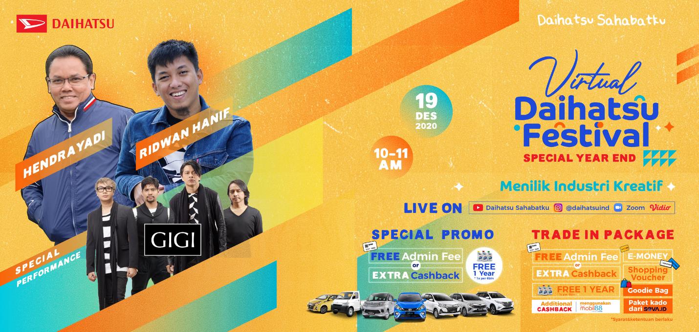 Promo Virtual event Daihatsu. Foto: PR Daihatsu