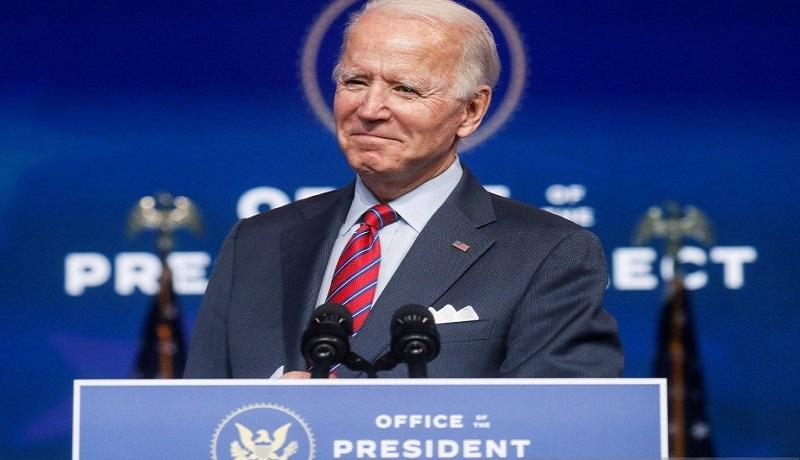 Joe Biden dipastikan menjadi Presiden AS. FOTO: Kevin Lamarque/Reuters/Antara