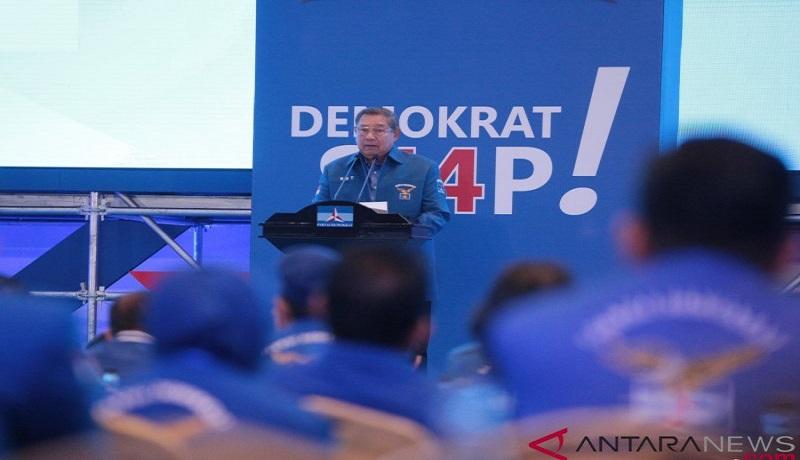 Pendiri Partai Demokrat, Susilo Bambang Yudhoyono (SBY). FOTO: Antara