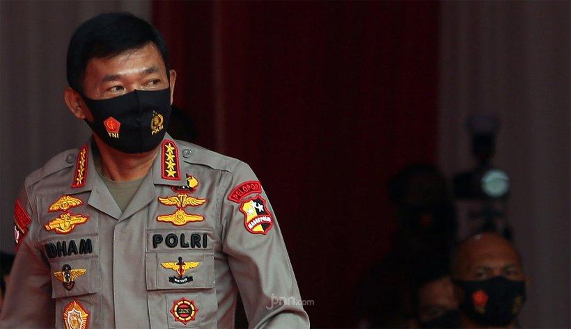 Kapolri Jenderal Idham Aziz. FOTO: Antara
