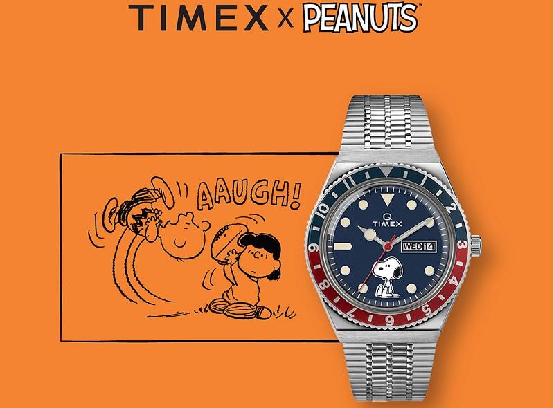 Jam Tangan Timex Persembahkan Koleksi Geng Peanuts