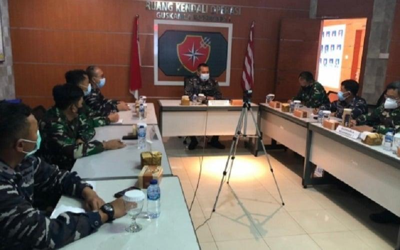 TNI AL Lakukan Konsolidasi Operasi Keamanan Laut