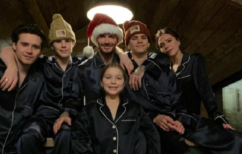 David Beckham, Victoria Beckham dan keempat anaknya (Foto: Instagram Victoria Beckham, @victoriabeckham)