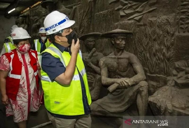 Ada Relief Bersejarah Milik Presiden Soekarno di Gedung Sarinah