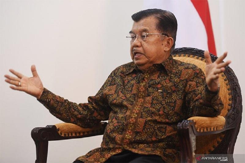 Mendadak JK Serang Balik Jawaban Jubir Jokowi, Jleb! ( Foto: Antara)
