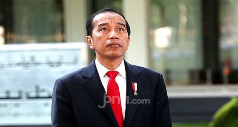 Presiden Joko Widodo. (Foto: Jpnn/Ricardo)
