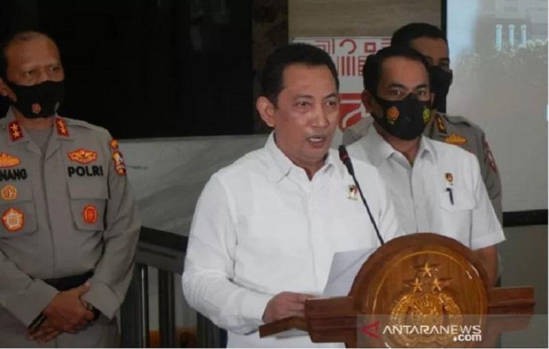 Komjen Listyo Calon Tunggal Kapolri ( foto: ANTARA)