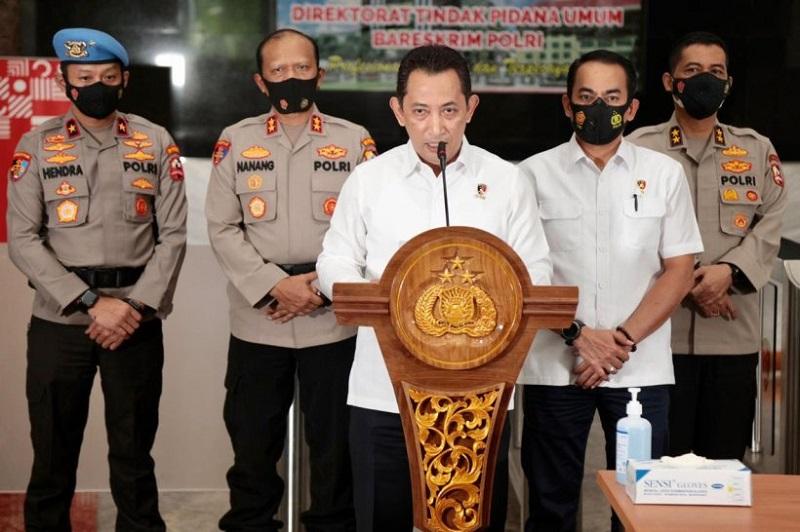 Komjen Listyo Calon Tunggal Kapolri ( foto: JPNN)