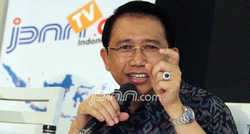 Marzuki Alie Geram Dituding Terlibat Upaya Kudeta AHY, Hati-hati!