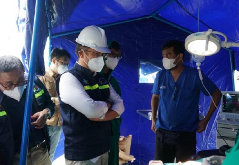 Menkes Tinjau Fasilitas Kesehatan di RSUD Sulawesi Barat