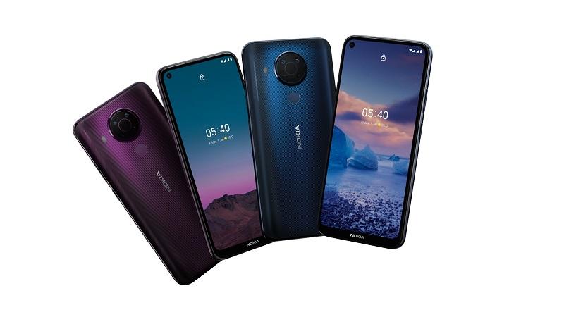 Nokia 5.4 Hadir dengan Spesifikasi yang Luar Biasa ( foto: PR Nokia 5.4)