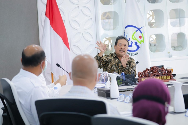Menteri Kelautan dan Perikanan Sakti Wahyu Trenggono ( foto: dok kkp)