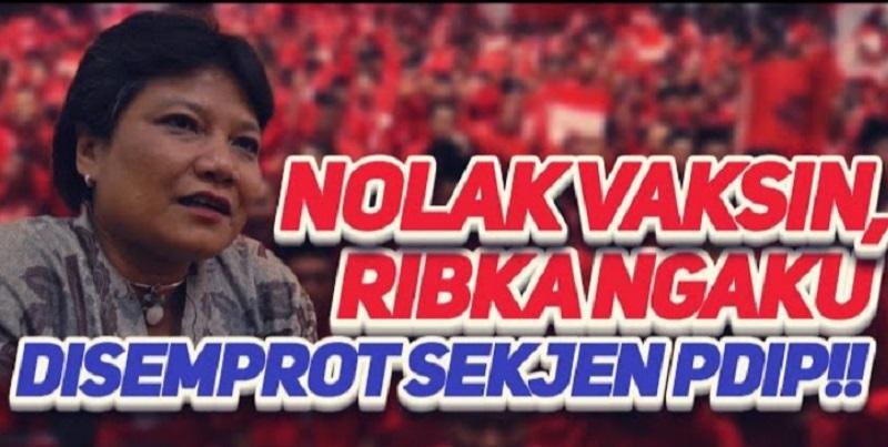 Politikus PDIP Ribka Tjiptaning ( foto: Youtube Refly Harun)