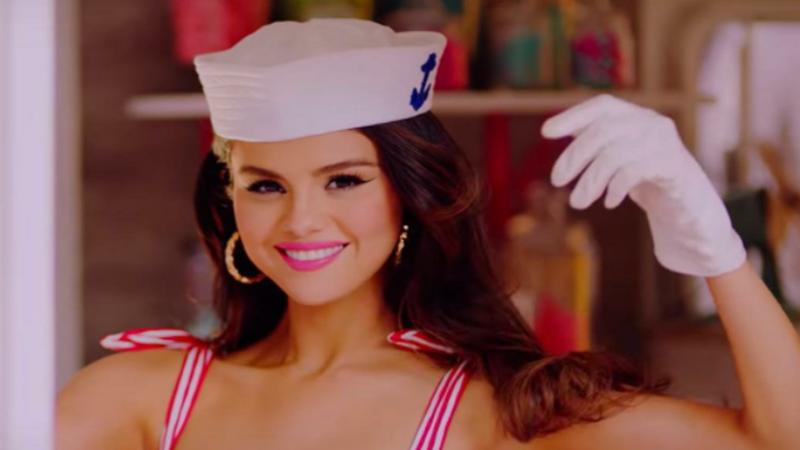 Selena Gomez di MV Ice Cream berkolaborasi dengan Blackpink (sumber foto: @forgetforrver)