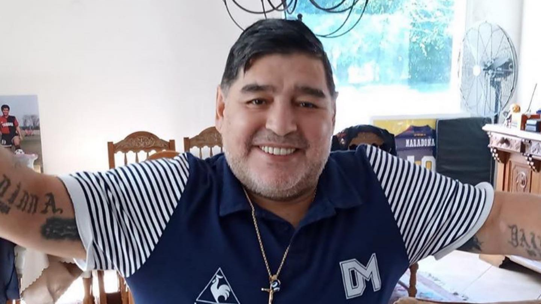 Legenda sepak bola Diego Maradona. Foto: IG @maradona
