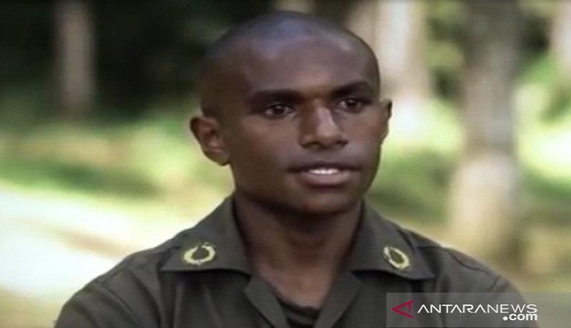 Taruna Akademi Militer TNI AD Samuel Wamu. FOTO: Antara