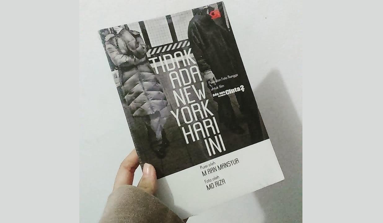 Buku Tidak Ada New York Hari Ini. (Foto:Instagram/Rak_kita)