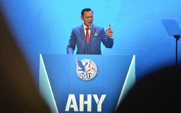 Ketua Umum Partai Demokrat Agus Harimurti Yudhoyono, (AHY). (Foto: M Fathra Nazrul/JPNN))