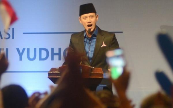 Ketua Umum Partai Demokrat Agus Harimurti Yudhoyono, (AHY). (Foto: Ricardo/JPNN)