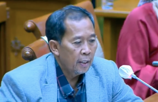 Anggota Komisi IX DPR RI Fadholi. (Foto: Mia Kamila/Tangkapan layar)