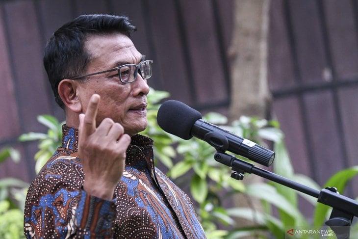 Kubu Kontra-AHY memilih Moeldoko menjadi Ketua Umum Partai Demokrat. (Foto: Dok. Antara)