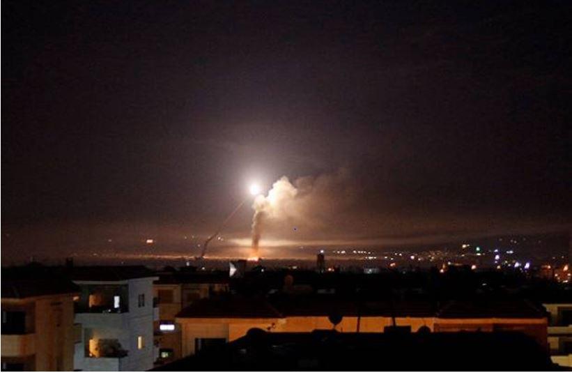 Ilustrasi-Serangan roket di Israel. (Foto: Reuters)