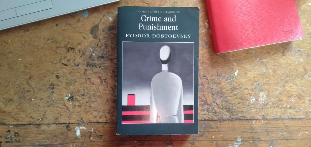 Novel Crime and Punishment. (Foto: Pulina)
