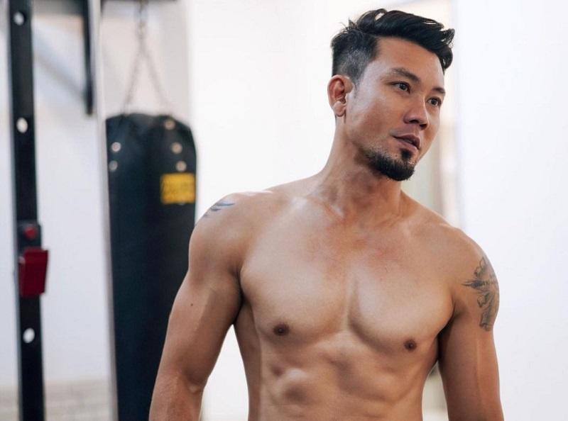 Aktor dan Pebasket Denny Sumargo (foto: instagram @dennysumargo)