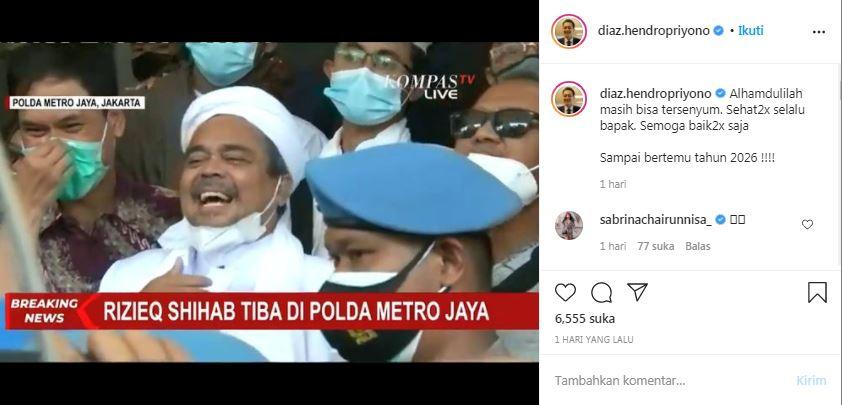 Komentar Stafsus Presiden untuk Habib Rizieq Kok Begini Banget?