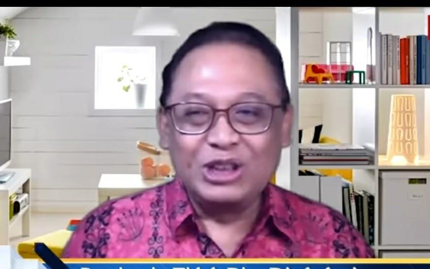 Epidemiolog Universitas Indonesia Dr Pandu Riono. (Foto: tangkapan layar YouTube/JPNN)