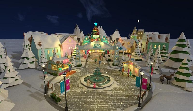FOX'S Candy Studio memberikan liburan natal dan tahun baru melalui virtual. FOTO: Antara