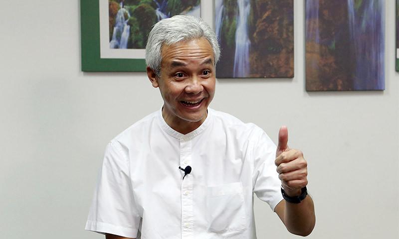 Gubernur Jawa Tengah Pranowo. (Foto: Ricardo/JPNN)