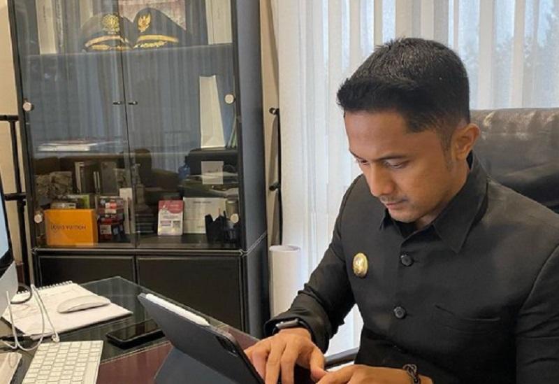 Wakil Bupati Bandung Barat, Hengky Kurniawan ( foto:instagram @hengkykurniawan)