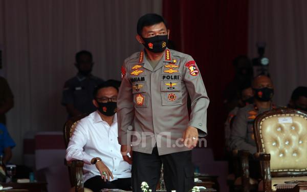 Kapolri Jenderal Idham Aziz. FOTO: JPNN
