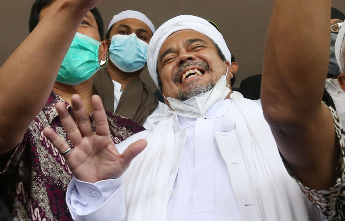 Habib Rizieq Shihab. (Foto: Ricardo/JPNN))