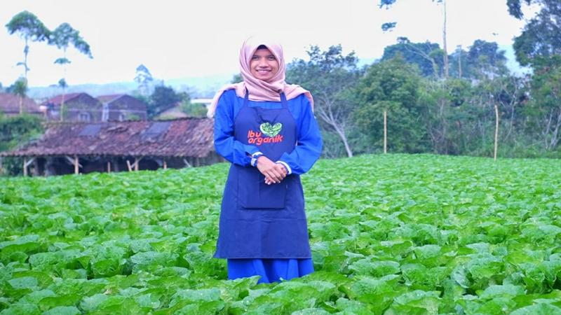 Intan Dian Heryani (foto: Dok. Ibu Organik)