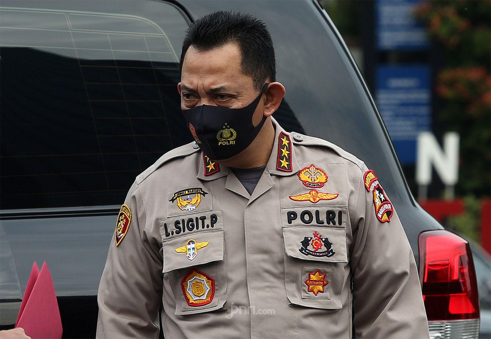 Kapolri Jenderal Pol Listyo Sigit Prabowo. (Foto:Ricardo/JPNN))