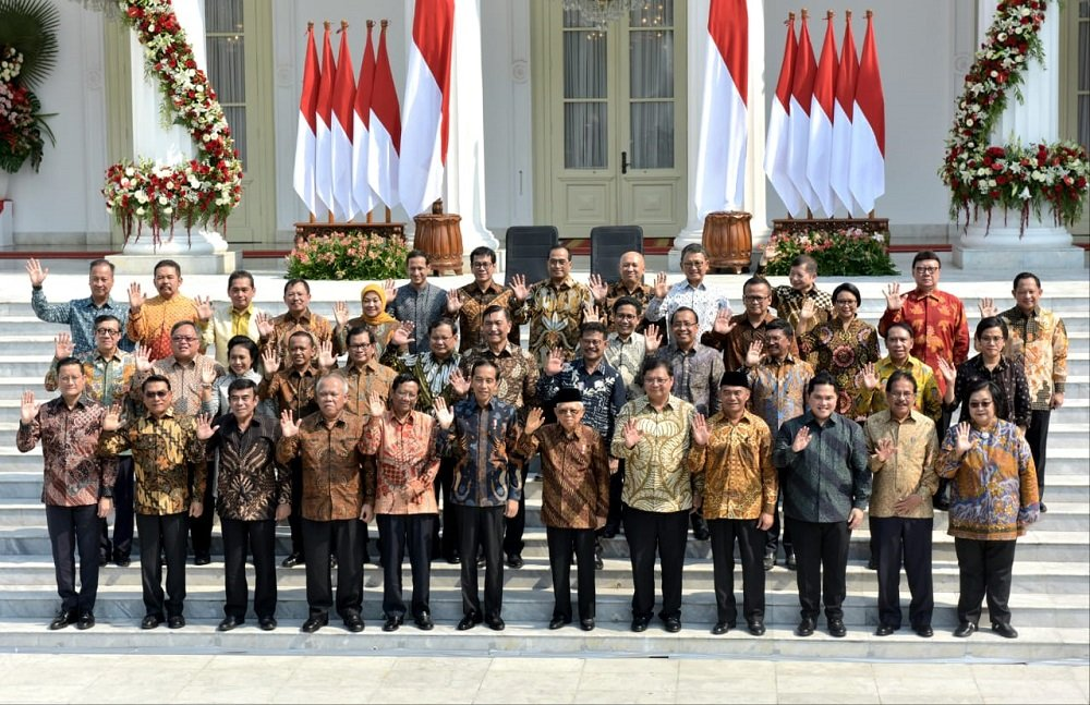 Kabinet Indonesia Maju. (Foto: Biro Setpres)