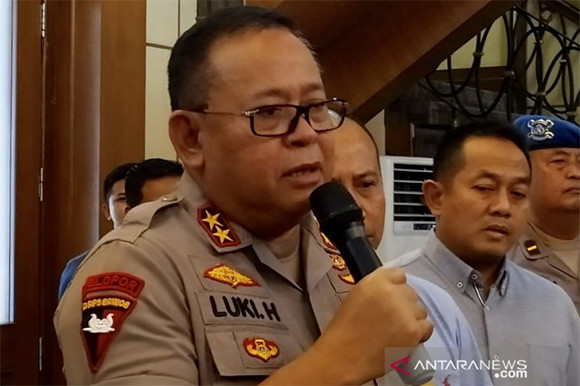 Irjen Luki Hermawan. (Foto: Antara/Willy Irawan)