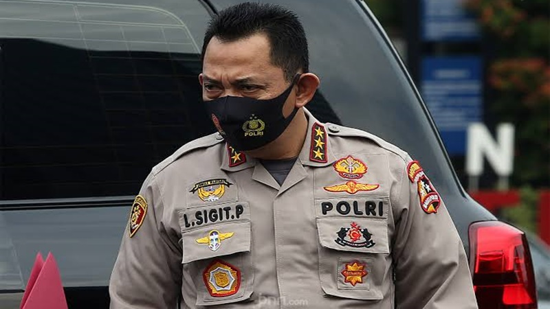 Kabareskrim Komjen Listyo Sigit Prabowo punya peluang kuat di bursa calon kapolri (foto: JPNN.com/GenPI.co)