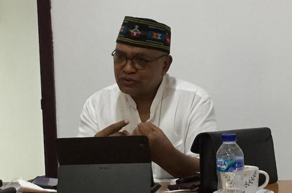 Koordinator Tim Pembela Demokrasi Indonesia (TPDI) Petrus Selestinus. (Foto: Dok. JPNN)