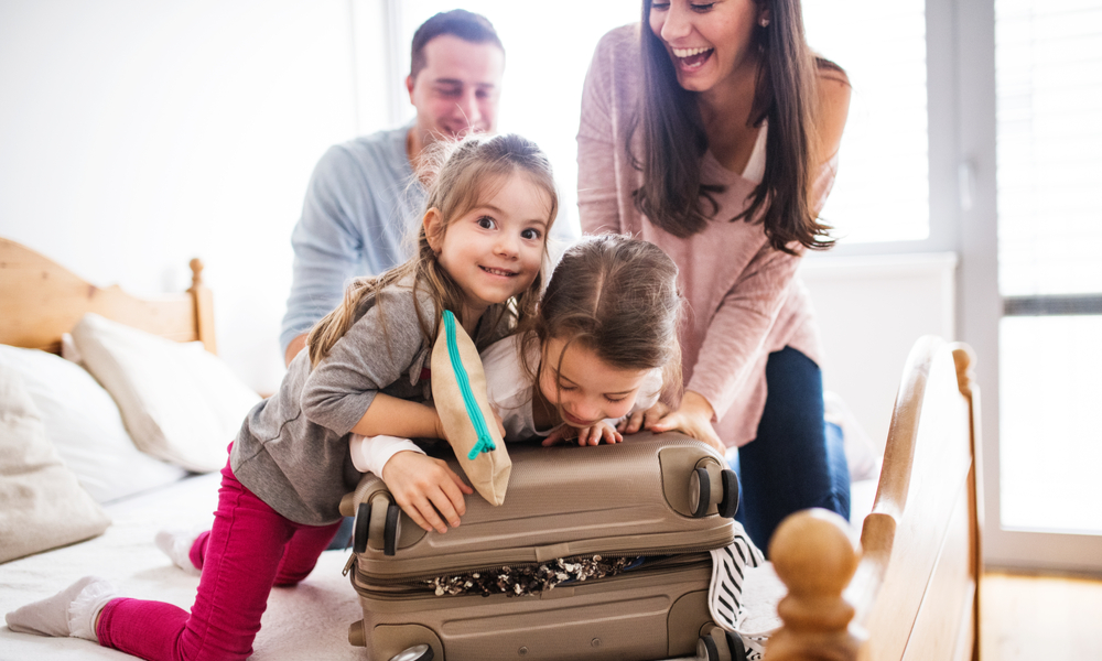 Ilustrasi packing sebelum traveling. Foto: One Travel