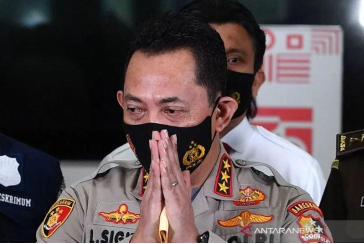Kabareskrim Polri Komjen Pol Listyo Sigit Prabowo, calon tunggal Kapolri yang telah diajukan Presiden Jokowi ke DPR RI. (Foto: Antara/Sigid Kurniawan/Nz/aa)