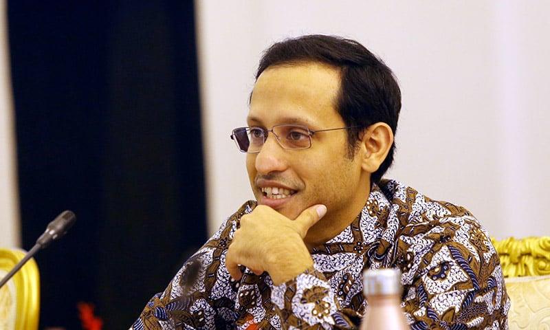 Mendikbud Nadiem Anwar Makarim (Foto: RIcardo/JPNN)