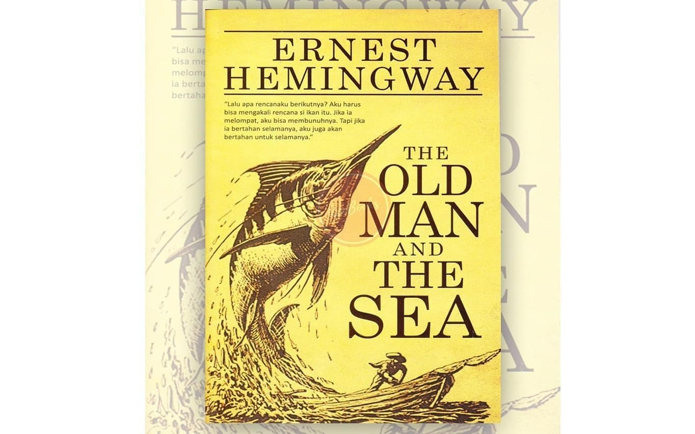 Buku The Old Man And The Sea, karya Ernest Hemingway (Foto:Instagram/Apebooks)