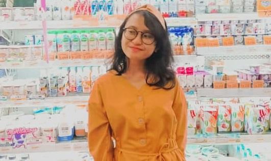Puspa Cintanya Djatmiko Retail Sales Associate. (Foto: HO/Dok Pribadi)