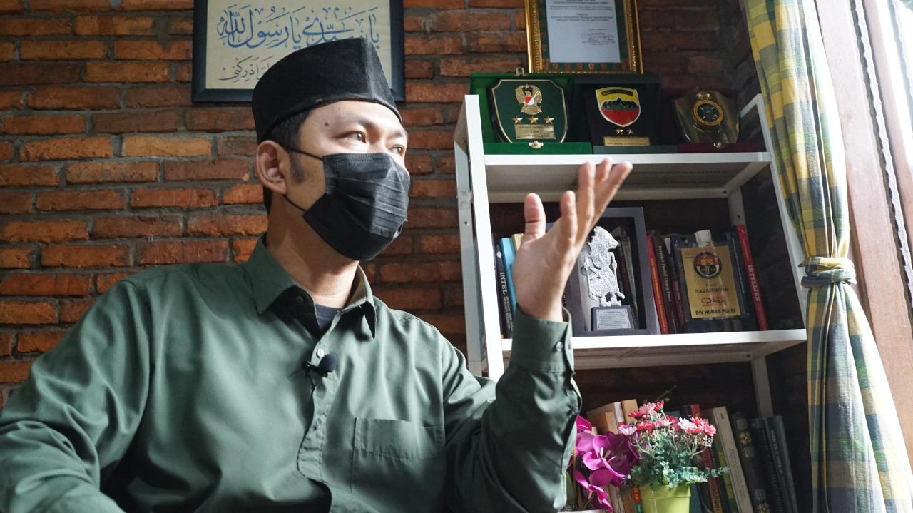 Pengamat Terorisme Ridlwan Habib. (Foto: Asep/GenPI.co)