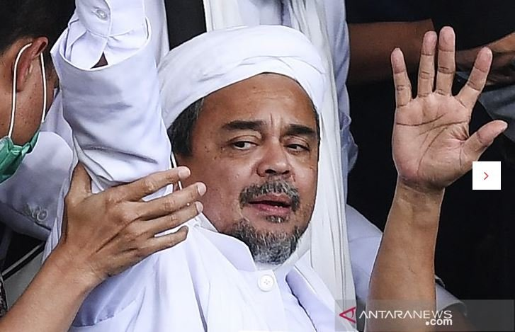 Habib Rizieq Shihab. (Foto: Antara)