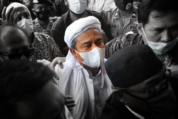Rizieq Berseru dari Tahanan, Minta Allah Hentikan Kezaliman